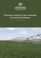 Economic Analysis of the Australian Lucerne Seed Industry