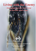 Living with the enemy Managing Lucerne seed wasp in lucerne seed crop